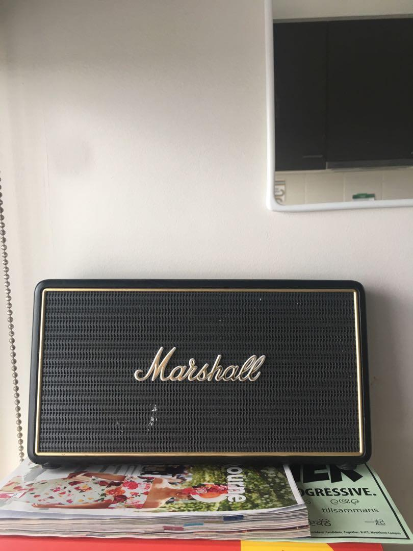Marshall Stockwell Portable Bluetooth Speaker (moving overseas)