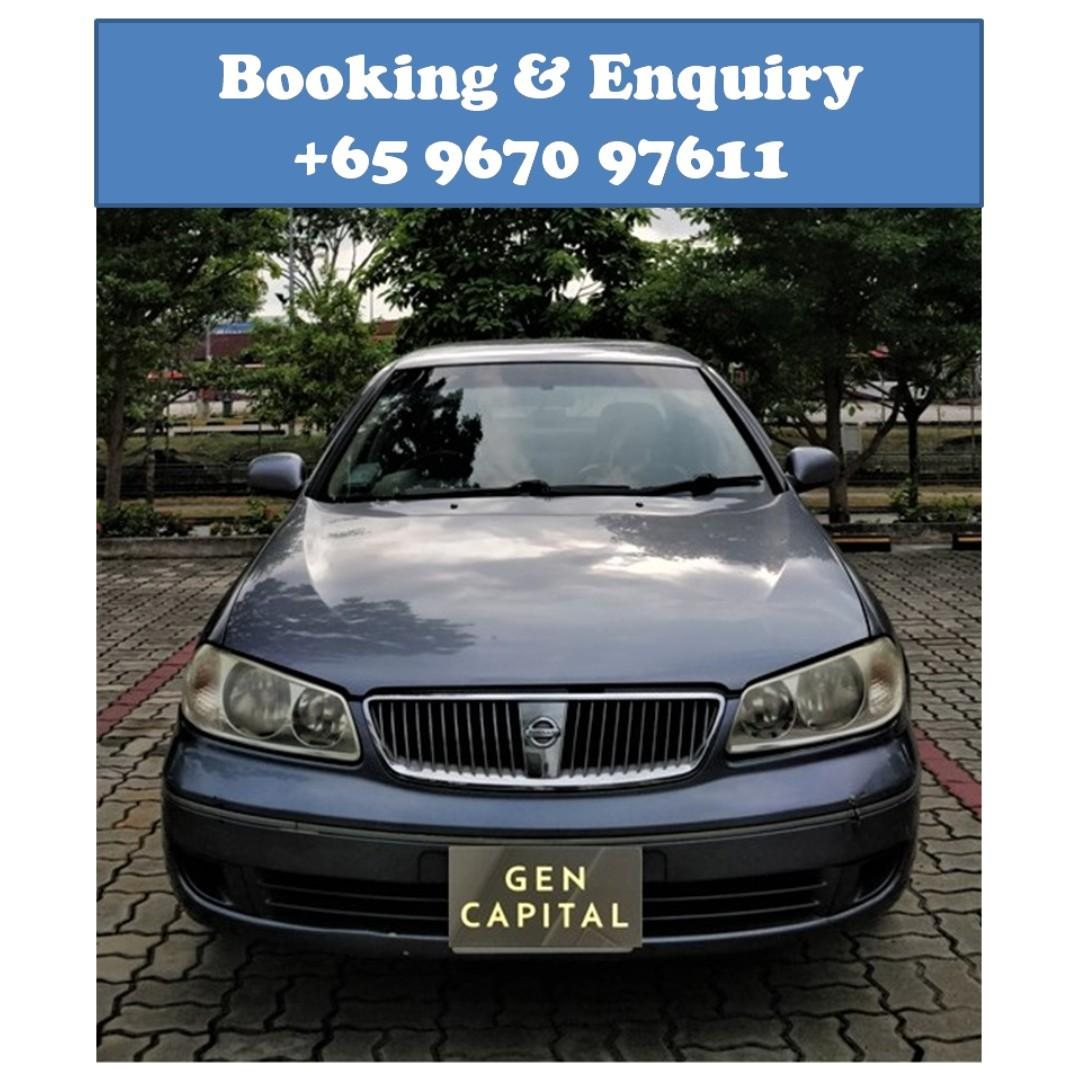 Nissan Sunny @ Best rates, full servicing provided!