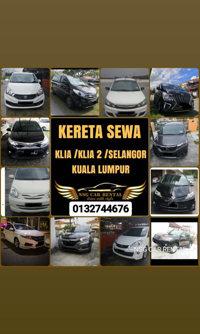 Perodua Myvi 1.3 (A) Kereta Sewa Murah NSG Selangor
