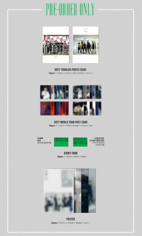 [Pre-order] GOT7 갓세븐 (MINI ALBUM) - CALL MY NAME (Ver. A || Ver. B || Ver. C || Ver. D)