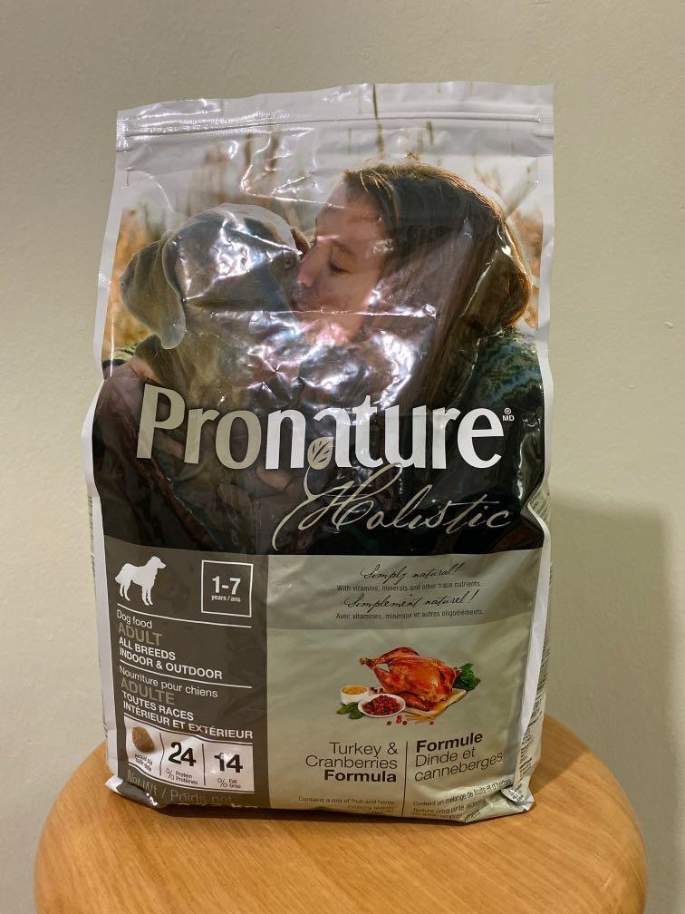 Pronature Holistic Turkey and Cranberries Formula (2.72kg)