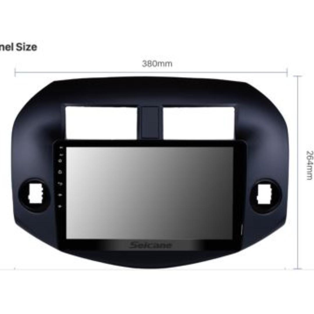 """RAV 4 Dash Unit - Android 10"""" fit for RAV dash fully insert"""