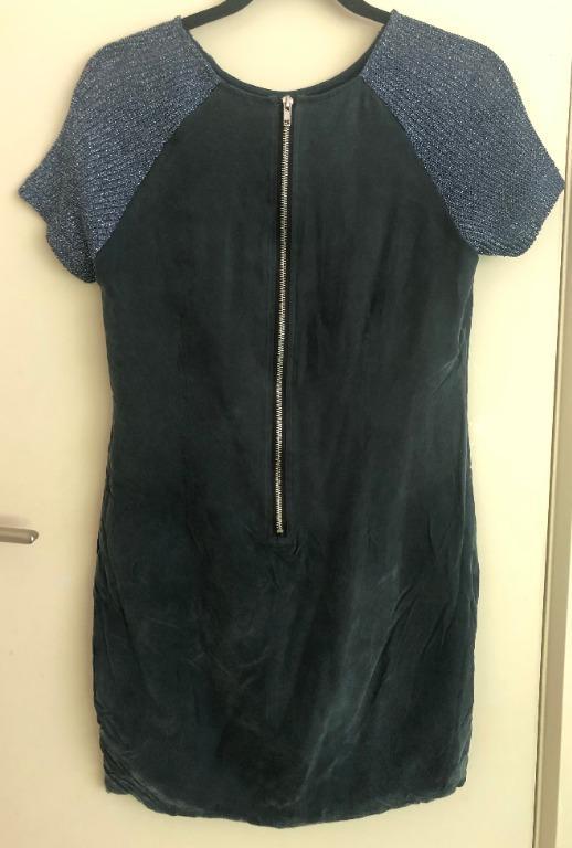 Raw By Raw Dress Size 8, Suede Like Fabric (Silk blend)