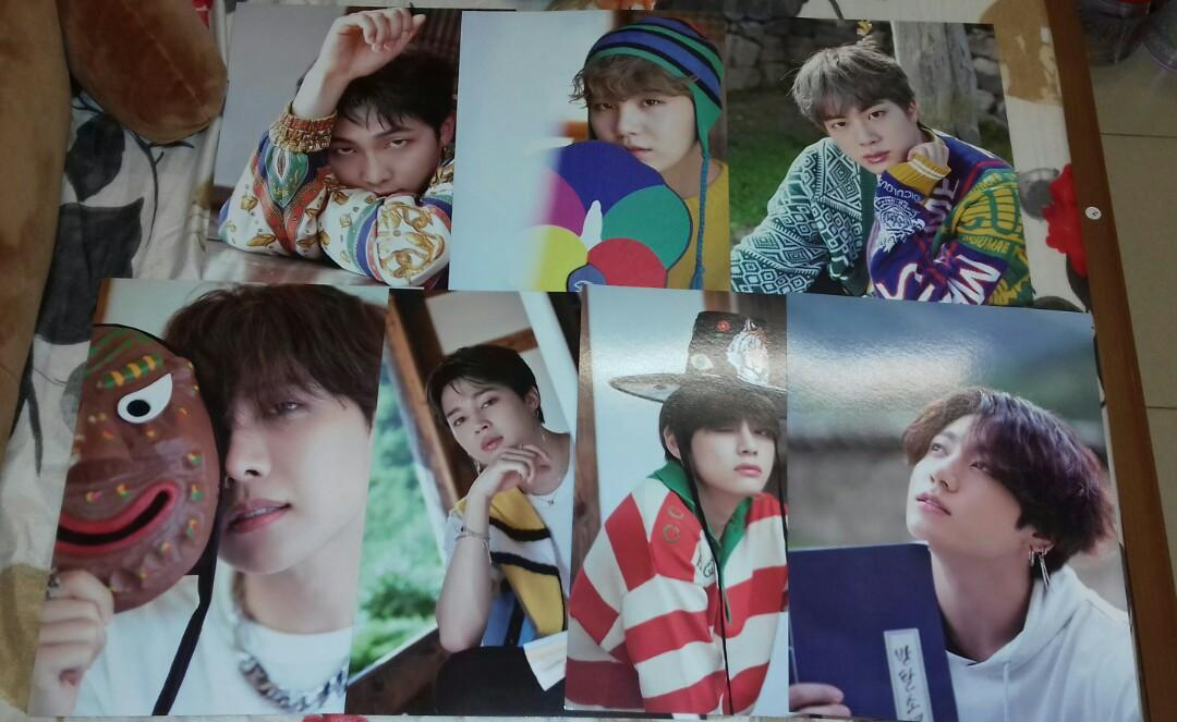 [READY STOCK] BTS 2019 SUMMER PACKAGE IN KOREA MINI POSTER