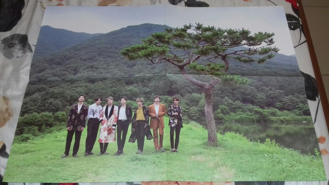 [READY STOCK] BTS 2019 SUMMER PACKAGE IN KOREA POSTER