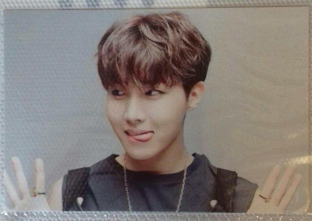 [READY STOCK] BTS J- HOPE EPILOGUE ON STAGE MINI PHOTOCARD