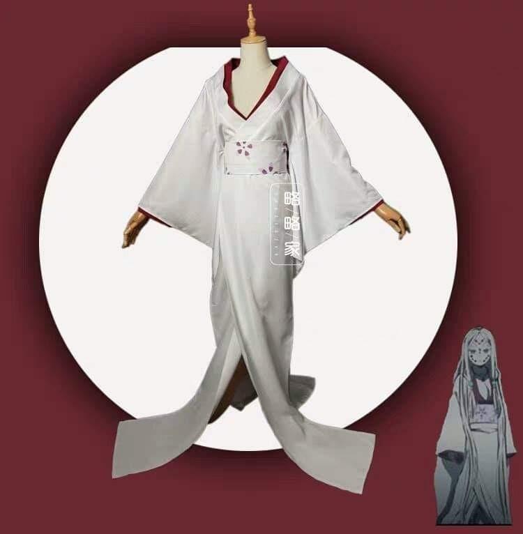 🕸RUI'S SPIDER MOTHER COSPLAY SET KIMETSU NO YAIBA ANIME DEMON SLAYER COSTUME WOMEN FASHION🕸