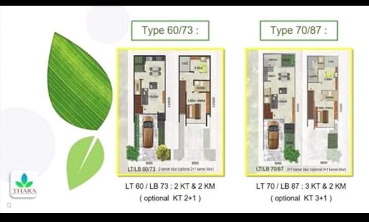 Rumah cantik Lokasi Cinere Promo 2 unit pertama 990 juta