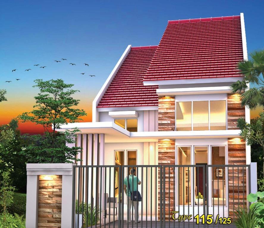 Rumah Minimalis Modern 1,5 Lantai di Jatiasih Bekasi