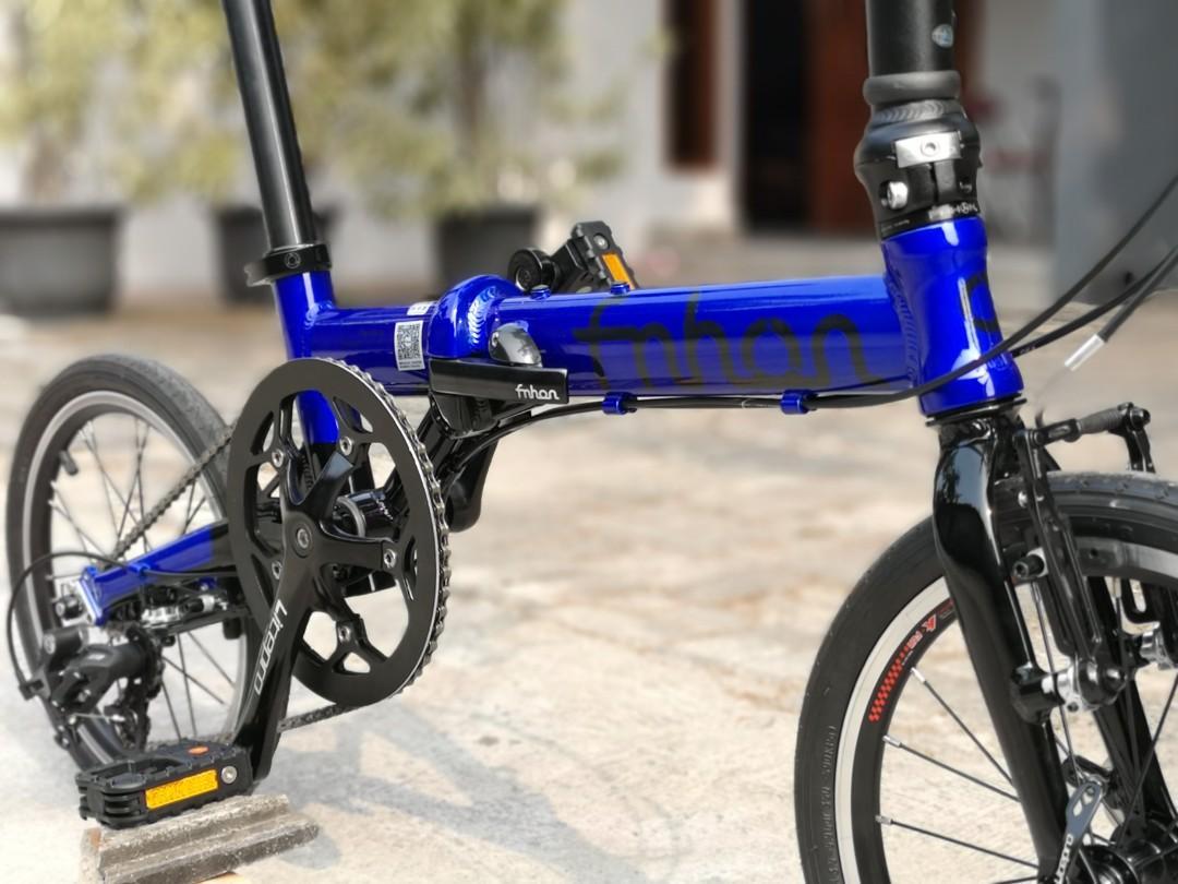 Sepeda Lipat Folding Bike Fnhon Freedom 16inch not Gust Storm Zephyr Tornado