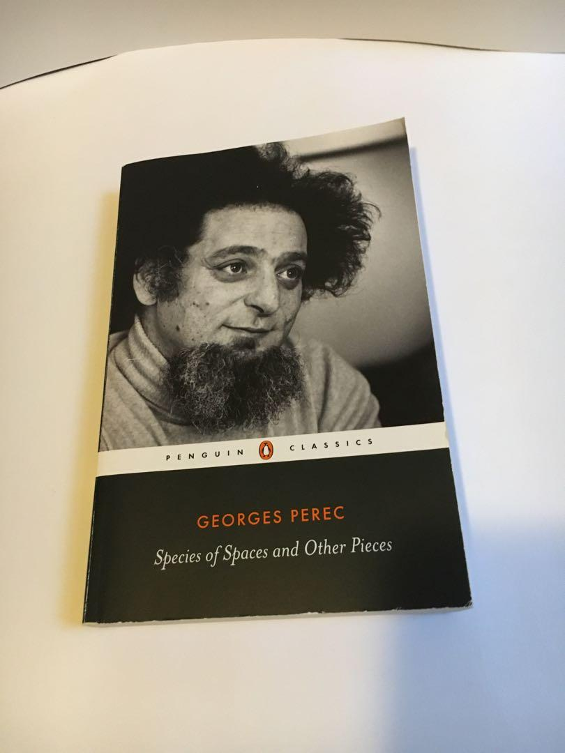 Species of Spaces and Other Pieces by George Perec