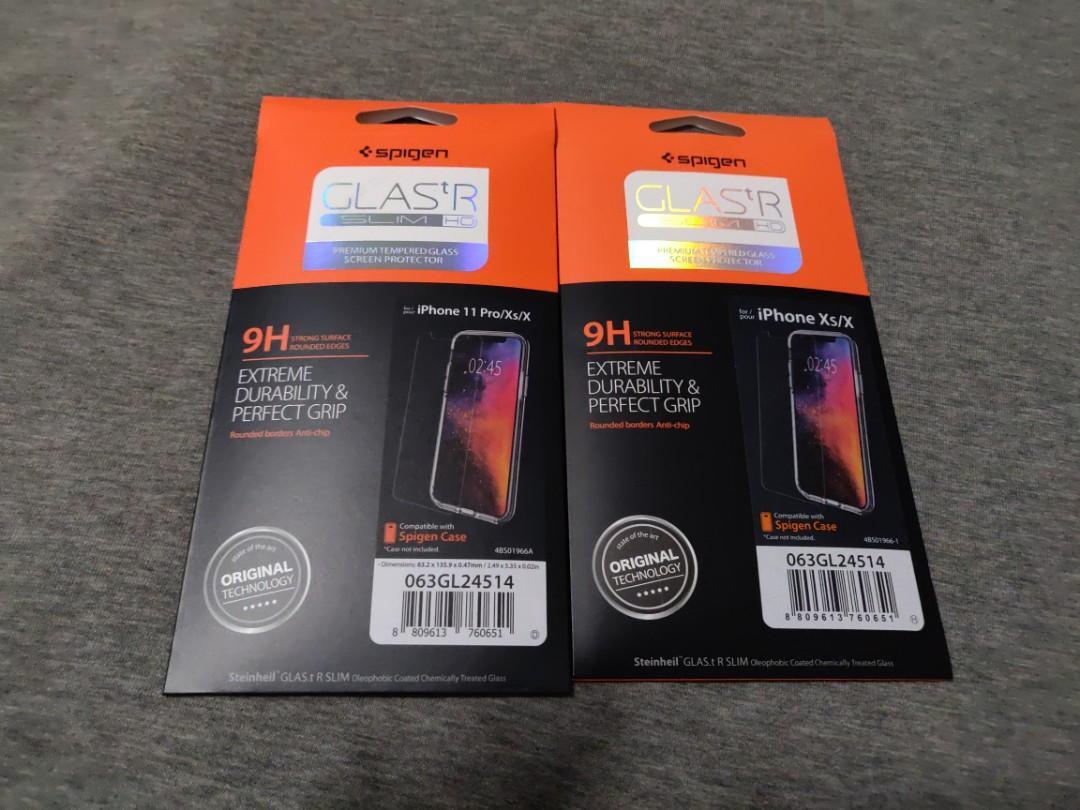 Spigen Iphone 11 Pro Tempered Glass