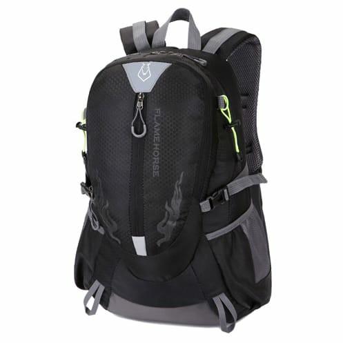 Tas Gunung Outdoor Adventure Waterproof 40L - Black
