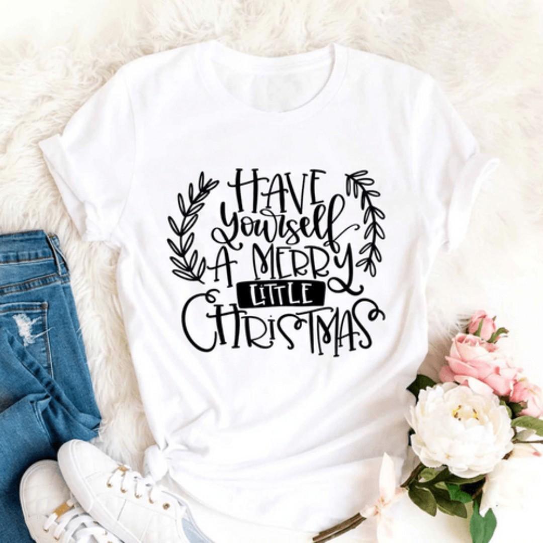Unisex Cotton T-Shirt | X'MAS SPECIAL | Size S-L Available | SALE