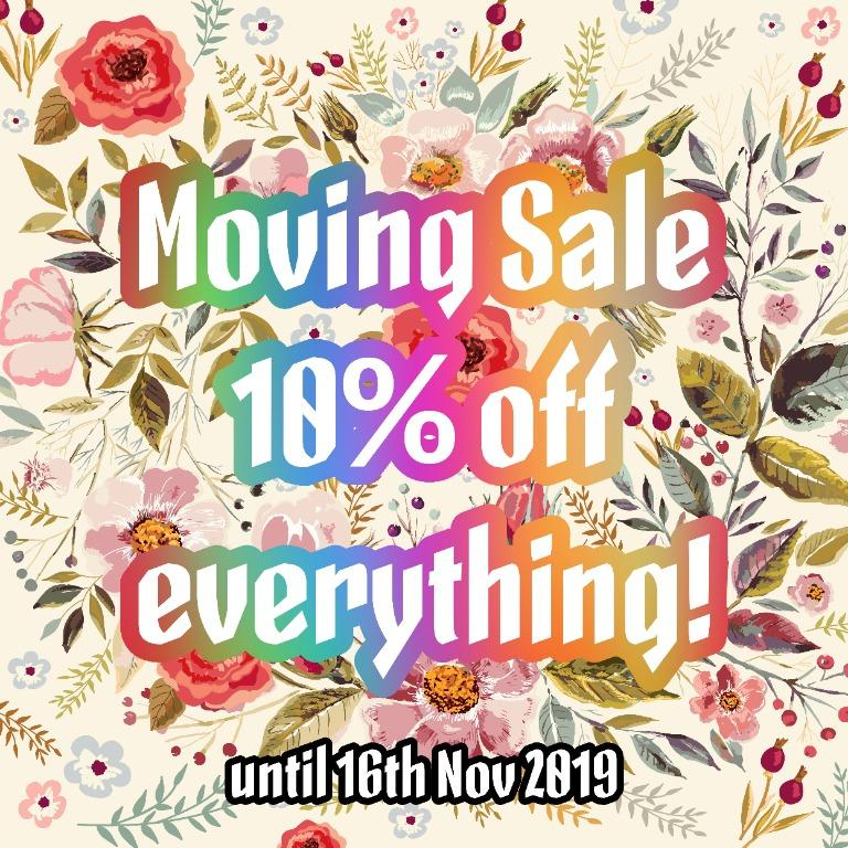 URGENT Moving Sale!! Fav and message to get the discount!