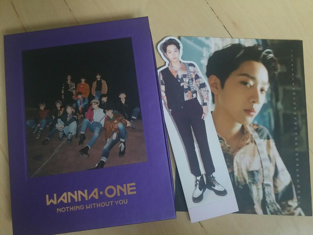 WANNA ONE NOTHING WITHOUT YOU LAI KUAN LIN SET (WANNA VERSION)