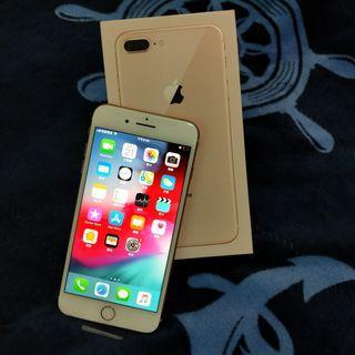 iPhone 8 Plus 256G 金色 二手機