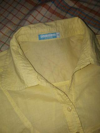 Seventeen Yellow Blouse
