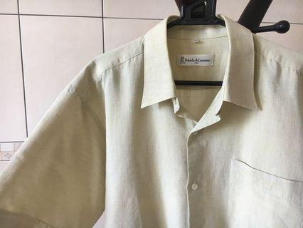 誠可小議❤️男女可穿 古著義大利品牌Roberta di Camerino短袖襯衫