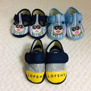 買就送~學步鞋 童鞋 幼兒鞋 步鞋 3雙一組 年齡:3m-6m 身高:58-66 體重:5.5-7.5  美國尺寸:3 日本尺寸:11 歐區尺寸:19  腳長:11cm