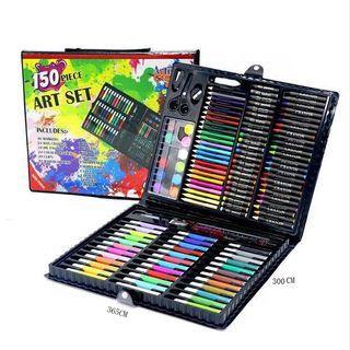 150 pcs Kids Painting Pen Crayon Art Drawing Set