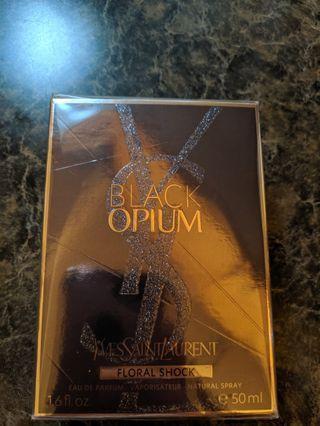 YSL black Opium Floral shock fragrance