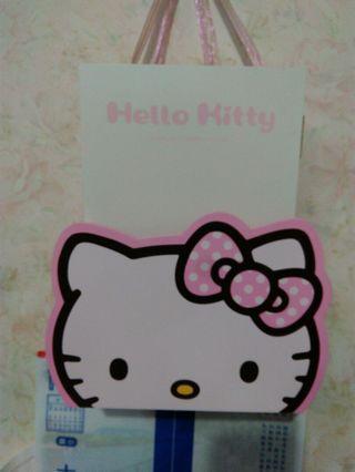 凱蒂正版信箱鑰匙盒27x18