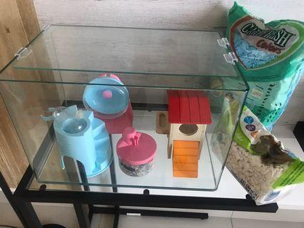 Hamster Cage & started kit