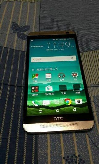 拍賣 Htc E9x  白色 2G/16G  外觀尚可 功能正常 台北可面交!