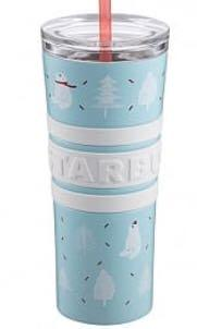星巴克 嬉戲北極熊不鏽鋼TOGO冷水杯