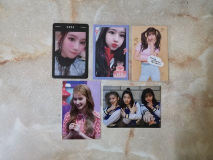 [WTS] TWICE SANA PHOTOCARDS