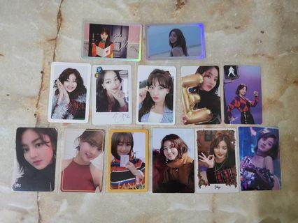 [WTS] TWICE JIHYO PHOTOCARDS