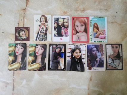 [WTS] TWICE CHAEYOUNG PHOTOCARDS