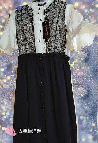 古典歌德式風/韓版洋裝