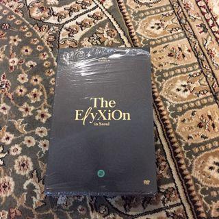 EXO official The elyxion DVD album