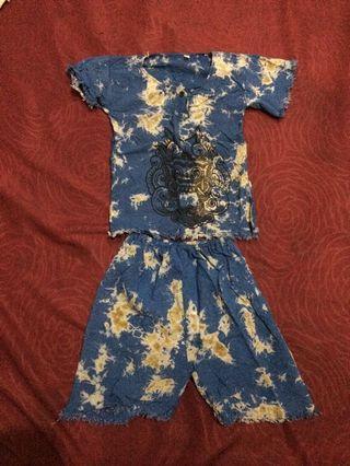 baju bayi baby anak per set atasan bawahan celana pendek jumper bodysuit romper sleepsuit  jumpsuit baby per set baju bali bahan katun