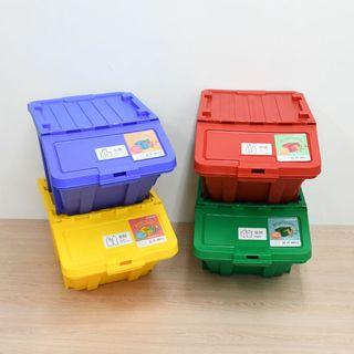 樹德 可疊式資源回收箱 收納箱 回收桶 置物箱 HB4068 喬艾森