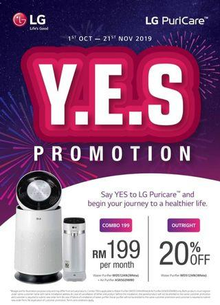 LG-PuriCare Combo YES Promo