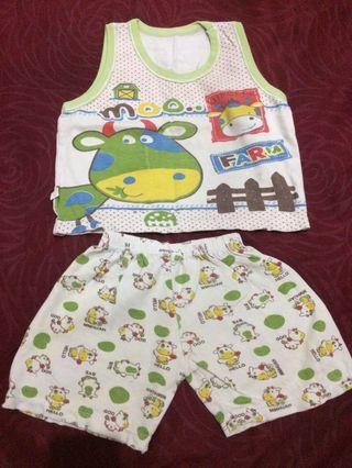baju bayi baby anak per set atasan bawahan celana pendek jumper bodysuit romper sleepsuit  jumpsuit baby per set setelan baju bayi baby anak