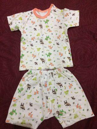 baju bayi baby anak per set atasan bawahan celana pendek jumper bodysuit romper sleepsuit  jumpsuit baby per set setelan baju bayi baby anak velvet junior