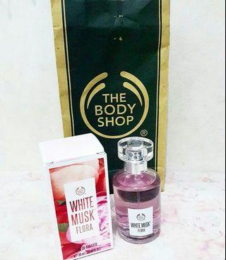 The body shop white musk flora EDT 60ml