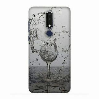 Dancing Water Nokia 7.1 Custom Hard Case