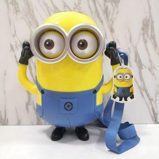 Original Universal Studio Minions Popcorn Bucket Container Bag