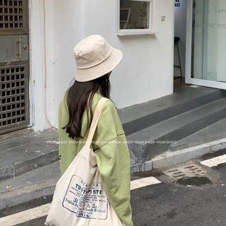 杏色漁夫帽