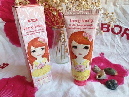 韓國護手霜The Orchid Skin taeng taeng Hand Cream 公主系列 – 公主系列 – 蘭花滋潤抗皺護手霜 60ml