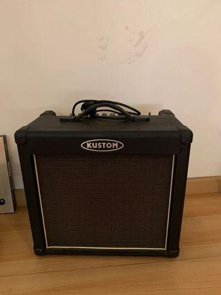Kustom Guitar Amplifier