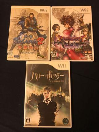 遊戲片 Wii 日本専用 3片