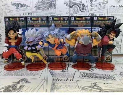 Wcf dragon ball super GT action figure 1pcs /set