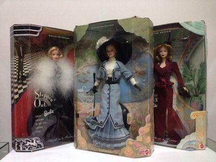 Great Fashions of the 20th Century Barbie Dolls Lot
