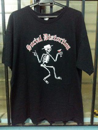Social Distortion band shirt